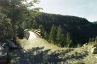 KVR 10-07-03 Myra Canyon - first trestle_ _jpg.jpg
